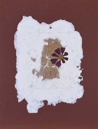 HESSIAN & COSMOS FLOWER by Lynda Cookson at Ross's Auctions