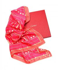CARTIER SILK SCARF at Ross's Auctions