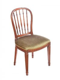 ANTIQUE MAHOGANY SIDE CHAIR at Ross's Auctions