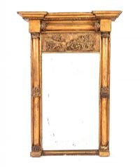 NINETEENTH CENTURY GILT PIER MIRROR at Ross's Auctions