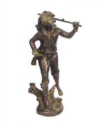 LATE NINETEENTH CENTURY BRONZE FIGURE at Ross's Auctions