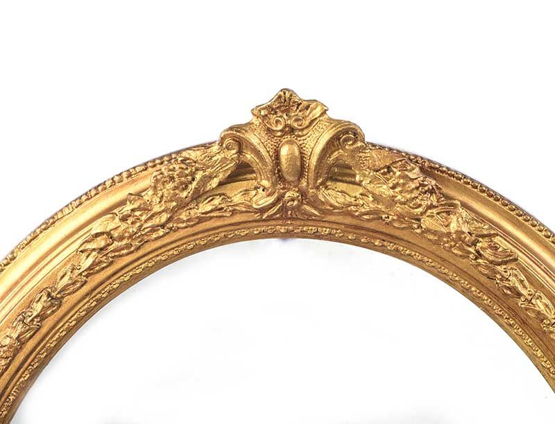ANTIQUE GILT WALL MIRROR at Ross's Online Art Auctions