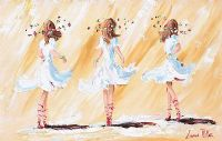 THREE DANCERS by Lorna Millar at Ross's Auctions