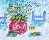 COOKIES & TEA by Lynda Cookson at Ross's Auctions