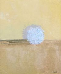 BLUE BALL OF WOOL by Charles Brady HRHA at Ross's Auctions