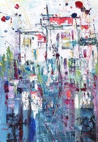 FIESTA, BARCELONA by Anna McKeever at Ross's Auctions