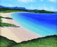 BLUE SEA AT BALLYMASTOCKER BAY, DONEGAL by Sean Loughrey at Ross's Auctions