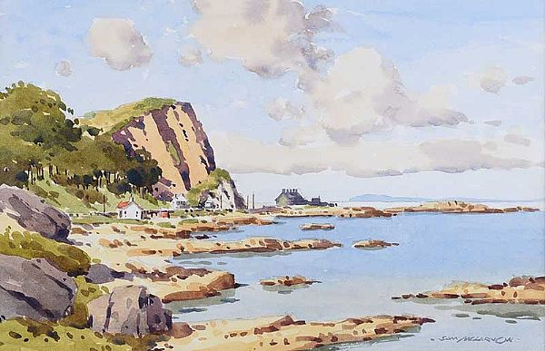 MURLOUGH BAY, COUNTY ANTRIM by Samuel McLarnon UWS at Ross's Online Art Auctions