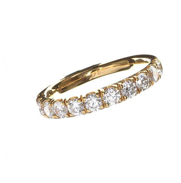 18CT GOLD DIAMOND RING at Ross's Online Art Auctions