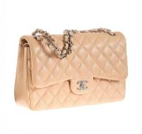 CHANEL CREAM LEATHER HANDBAG at Ross's Auctions