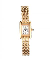 CARTIER 18CT GOLD LADY'S WRIST WATCH at Ross's Auctions