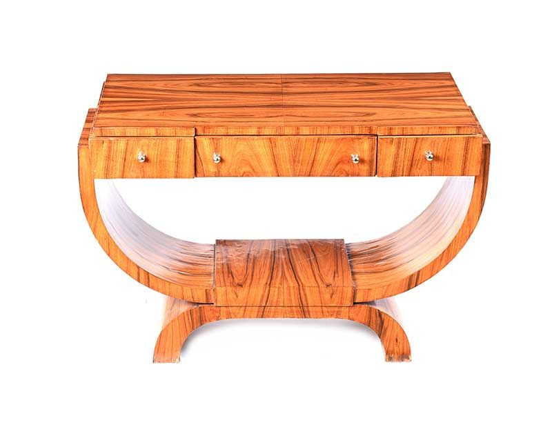 ART DECO STYLE CONSOLE TABLE at Ross's Online Art Auctions