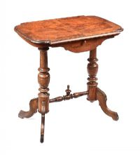 ANTIQUE WALNUT LAMP TABLE at Ross's Auctions