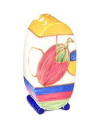 CLARICE CLIFF COLLECTION SUGAR SIFTER at Ross's Auctions