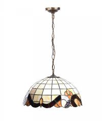 TIFFANY STYLE LIGHT FITTING at Ross's Auctions