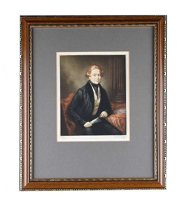 COLOURED ENGRAVING at Ross's Online Art Auctions