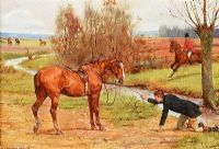 BETTER LUCK NEXT TIME by George Goodwin Kilburne RI ROI RWS at Ross's Auctions