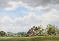 PASTORAL LANDSCAPE by Frank Egginton RCA FIAL at Ross's Auctions