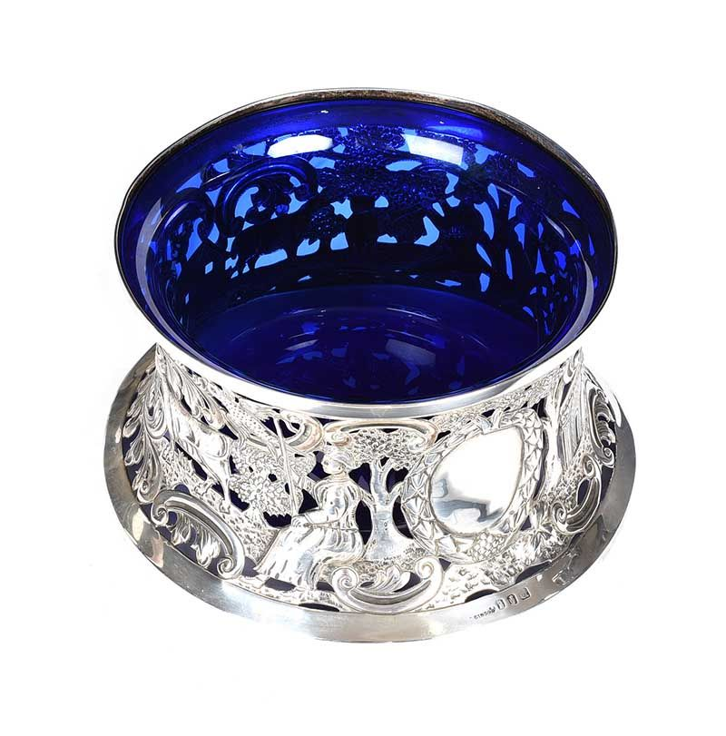 IRISH SILVER POTATO/DISH RING at Ross's Online Art Auctions