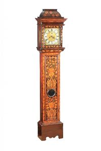 EIGHTEENTH CENTURY MARQUETRY LONG CASE CLOCK at Ross's Auctions