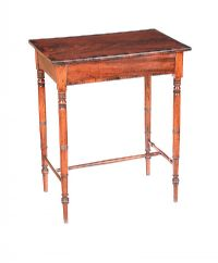 GEORGIAN ROSEWOOD LAMP TABLE at Ross's Auctions