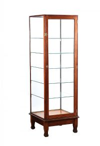 NINETEEN THIRTIES GLASS DISPLAY CASE at Ross's Auctions