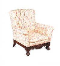 IRISH VICTORIAN ARMCHAIR at Ross's Auctions