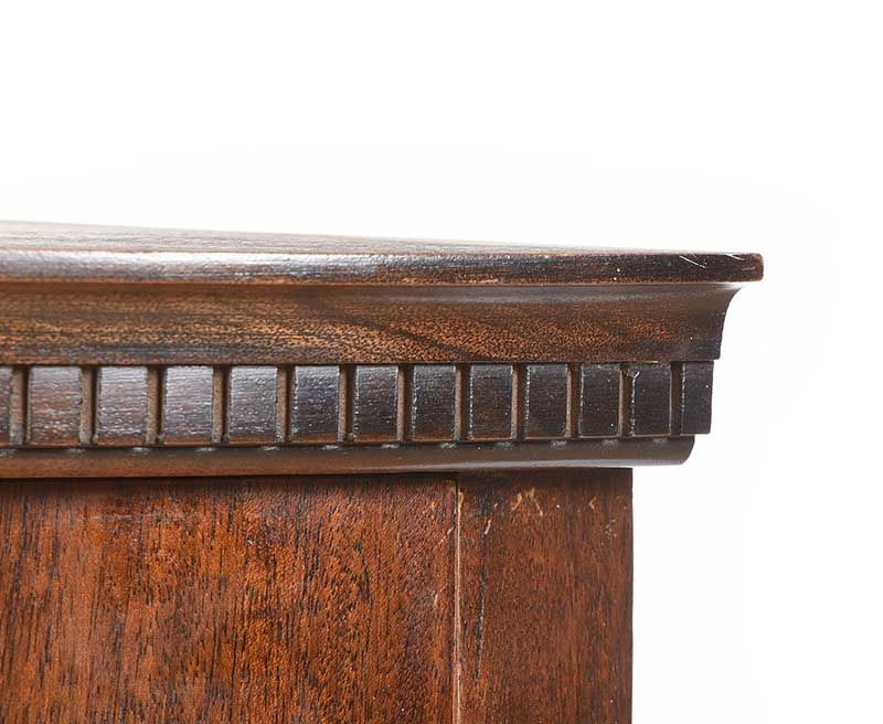 NINETEENTH CENTURY BOW FRONT CORNER CABINET at Ross's Online Art Auctions