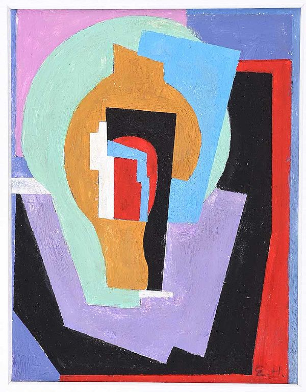COMPOSITION by Evie Hone HRHA at Ross's Online Art Auctions