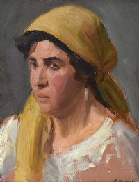 PORTRAIT OF A GIRL by Eileen Murray at Ross's Auctions