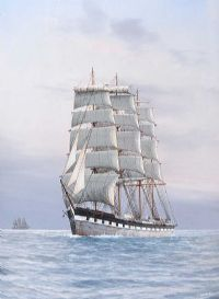 TALL SHIP IN CALM SEAS by Louis Papaluca at Ross's Auctions