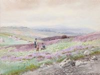 THE BACK OF CAVEHILL by Joseph William  Carey RUA at Ross's Auctions
