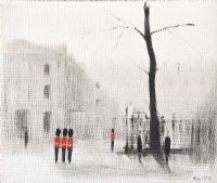 GUARDSMEN, LONDON by Anthony Klitz at Ross's Auctions