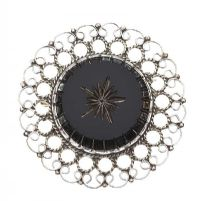 STERLING SILVER PLATED BROOCH at Ross's Jewellery Auctions