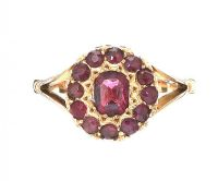 EDWARDIAN 15CT GOLD AMETHYST RING at Ross's Jewellery Auctions