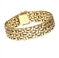 18CT GOLD BRACELET at Ross's Online Art Auctions