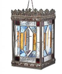 ANTIQUE HALL LANTERN at Ross's Auctions