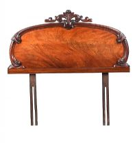 VICTORIAN MAHOGANY HEADBOARD at Ross's Auctions