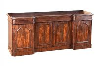 VICTORIAN MAHOGANY FOUR DOOR SIDEBOARD at Ross's Auctions