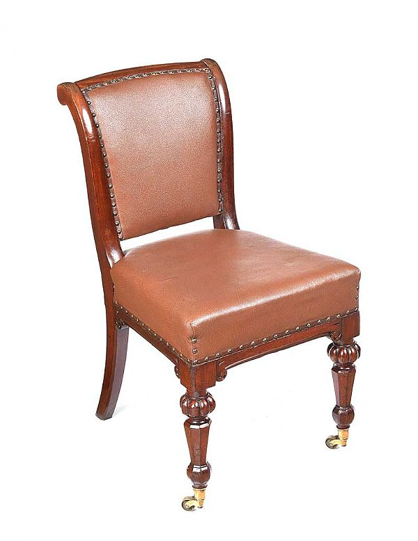 VICTORIAN DESK CHAIR at Ross's Online Art Auctions