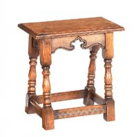 OAK JOINT STOOL at Ross's Auctions