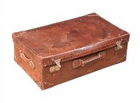 VINTAGE LEATHER TRAVEL CASE at Ross's Auctions