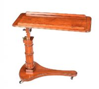 VICTORIAN MAHOGANY READING TABLE at Ross's Auctions