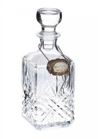 CUT GLASS WHISKEY DECANTER at Ross's Auctions