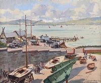 ROYAL NORTH OF IRELAND YACHT CLUB, CULTRA by Robert Taylor  Carson RUA at Ross's Auctions