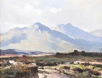 IN THE MAAM VALLEY, COUNTY GALWAY by Maurice Canning  Wilks ARHA RUA at Ross's Auctions
