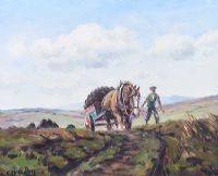 DRAWING HOME THE TURF by Charles McAuley at Ross's Auctions