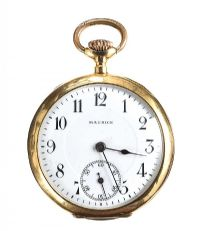 MAURICE LA CROIX 18CT GOLD POCKET WATCH 1898/1893 at Ross's Jewellery Auctions