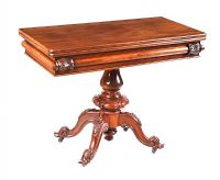VICTORIAN TURN OVER LEAF TEA TABLE at Ross's Auctions