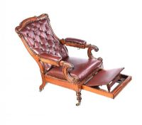 WILLIAM IV DAW'S LIBRARY CHAIR at Ross's Auctions